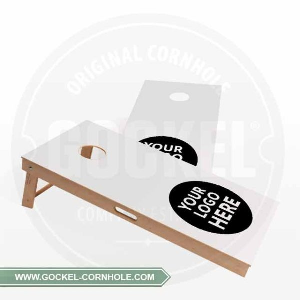 2 Cornhole Boards with GOCKEL logo, to play at every event!