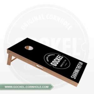 Cornhole board with GOCKEL logo, to play at every event!