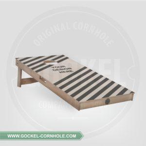Cornhole board customized. We can handle any custom request!