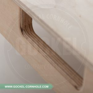 All GOCKEL cornhole products are hand crafted and proudly produced in Europe.