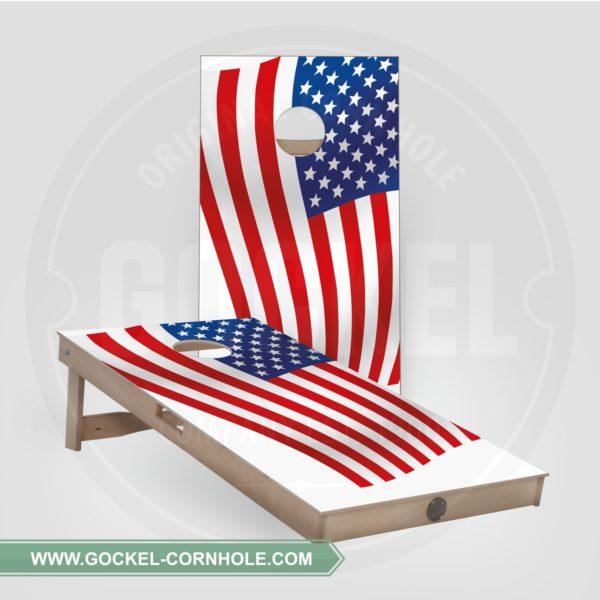 Cornhole set - American flag