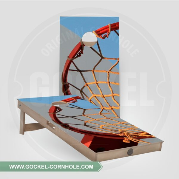 Cornhole boards - basketball