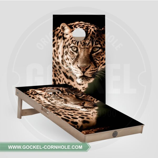 Cornhole boards - leopard