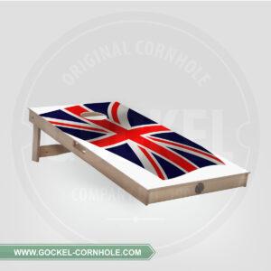 Cornhole Board - English flag