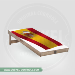 Cornhole Board - Spanish flag